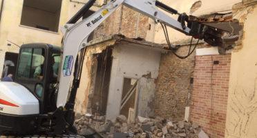 Demolizione in Centro Storico a Ravenna
