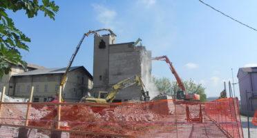 Demolizione Ex Mulino Ballardini Mezzano